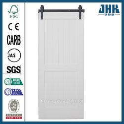 ヨーロッパの木のドアのアフリカSapele HDFの納屋の大戸