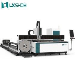 Macchine industriali del tubo 2021/tubo del taglio del laser della fibra di Lxshow 500W 1kw 2kw 3kw 4kw per il taglio d'acciaio del metallo