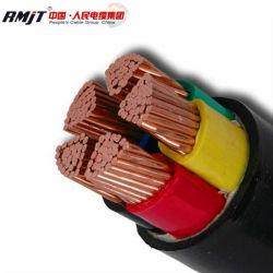 كبلات أساسية نحاسية مصفحة XLPE Insulated Power Cable 35kv Yjv للاستخدام تحت الأرض