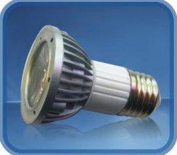 Voyant LED 3 W la cuvette (E27-22-3W1-XX-JDR)