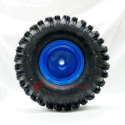 Forlong 15X5.00-6 banden- en wielvelg 4.00X6 gemonteerd wiel voor sneeuwblazers, maaiers, rijmaaiers, tuintractoren, ATV's en bedrijfsvoertuigen