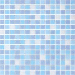 20X20 bleu piscine mosaïque de verre Art
