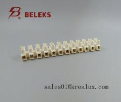 94-V0 grau T135 450V plástico bloco terminal padrão da UE VDE marcação CQC UL parafuso metálico Blocos de terminais T06-M12 (HG) Poliamida66 marfim