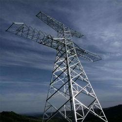 電流を通された鋼鉄専門の供給の角度鋼鉄電気タワーの送電タワー