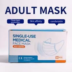 Volwassene Disposable Non-Woven 3-laags Groothandel PM 2.5 stofvlak Masker