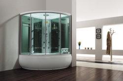 Gran cuarto de baño de vapor de acrílico con la Radio y Televisión (M-8272)