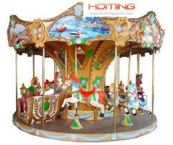 Giostre del parco a cavallo delle carrouselle (12 giocatori) (hominggames-COM-385)