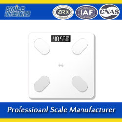 Peso de gordura corporal eletrônico inteligente corpo do Analisador de escala de banho do corpo humano corpo de Escala