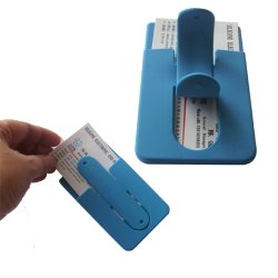 U 및 SIM 카드 전화기 세트 전화기 홀더를 누릅니다