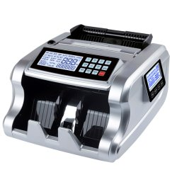 Al6700の二重表示機械を数える流通証券の多重反対の銀行券のための携帯用自動お金のカウンター