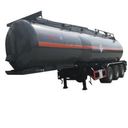 3axles 30cbm 32cbm 35cbm 36cbm 40cbmの国内下水タンクトレーラーの廃水タンク