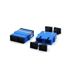 SC/PC Faser-optischer Adapter, Duplex, einzelner Modus, Flangeless