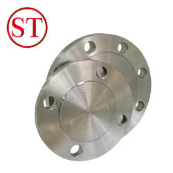 ブランクフランジSch80 ASTM A105
