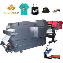 기계를 동요하는 의복 열전달 인쇄 기계 t-셔츠 분말을%s 백색 잉크 열전달 애완 동물 필름 인쇄 기계
