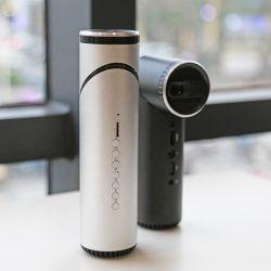 ホームシアターまたは屋外または大会の使用のための小型プロジェクターDLP 1080Pスマートな人間の特徴をもつWiFi Btの携帯電話プロジェクター