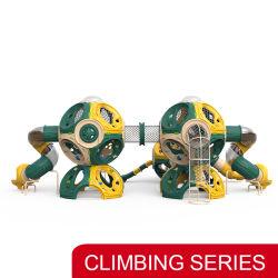 Nuevo diseño de equipos de diversión a los niños de la cuerda de escalada infantil diapositiva
