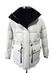 특대형 레이디스 퍼퍼 다운 재킷 여성용 롱 패딩 코츠 모피 칼라