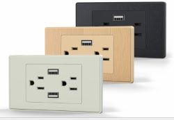 Universal blanc/or dissimulé Prise murale USB multifonction