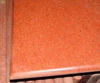 Teñido de granito rojo (ZS-001).