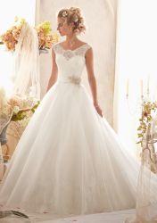 شريط مطبّقة زفافيّ مساء ثوب يرى [بلّ غون] كلّيّا عرس ثوب