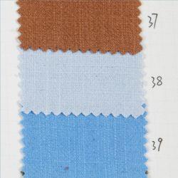 衣服のための75%方法標準的な織物25%の麻布のレーヨン粗紡糸の砂の洗浄新しいデザインによって染められるファブリック