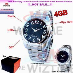 Horloge van de Videorecorders van de Speldeprik van de Stijl van de Sporten van de Spion van mensen het Geheime (WTW9018)