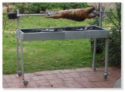 전문적인 공장 상용 확장 가능 다목적 실외 숯색 BBQ 그릴