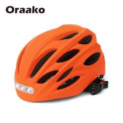 Casque de vélo avec des lumières du cycle de l'accessoire de moto 1 pièce Kids Casque de sécurité avec la lumière de la chair