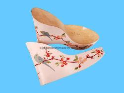 Aplicar impressão por transferência de água nos calçados