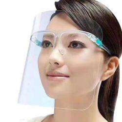 유행 안전 프레임 얼굴 방패 제조자를 가진 Anti-Fog 보호 눈 유리 얼굴 방패