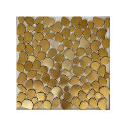 Combinate Art 201 304 4X8 1.0mm Stärken-Edelstahl-Mosaik-Fliese auf Lager für Küche-Badezimmer-Fußboden-Dekoration