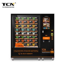 TCN 핫 푸드 밀 런치 박스 준비 푸드 자판기