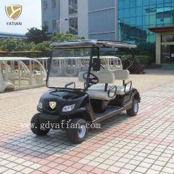Alimentation électrique personnalisé petite voiturette de golf avec pare-brise sur la vente