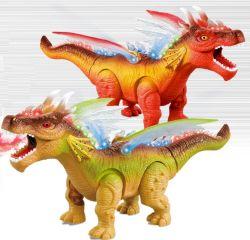 Batteriebetriebene Dinosaurier-Spielwaren mit Licht und fehlerfreiem batteriebetriebenem Drache-Spielzeug