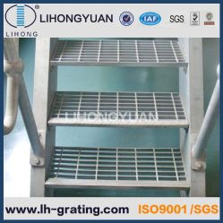 Rejilla de acero galvanizado peldaños para escaleras Escalera Estructura de acero
