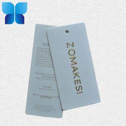 Benutzerdefinierte umweltfreundliche Papier Swing Tag für Bekleidungszubehör