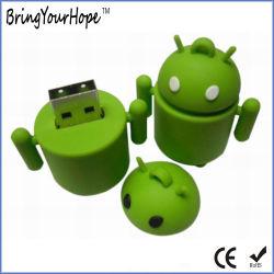 Android stick USB à mémoire Flash de la forme du robot (XH-USB-005)
