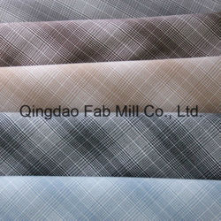 Tingidos de fios de tecido Plaid Shirt (QDFAB-2968)