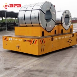 Aluminiumring 80t, der Karren auf Schienen-Querbucht-Transport handhabt