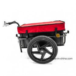 Rimorchio d'acciaio della bicicletta di alta qualità con il coperchio impermeabile