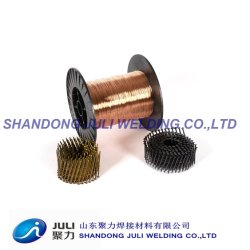 Stainless Steel 세륨 Certificate를 가진 건물 Material Collated Copper Coated Coil Nail Welding Wire