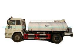 Goed van de Tanker van het Water van de Vrachtwagen van /4X4 van Steyr 4X2 het Militaire (Water Bowser) voor Plastiek van de Tank van het Staal van het Drinkwater van het Wegvervoer Rought het Binnen Gevoerde