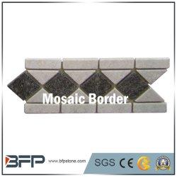 Los nuevos estilos Poluar Patrón de la flor de la frontera mosaico de azulejos para cuartos de baño