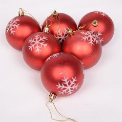 Custom очаровательный окрашенные снежинка Рождество шаровой шарнир