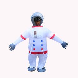 Costume blanc Spacesuit gonflables pour les adultes, l'astronaute Costume gonflable