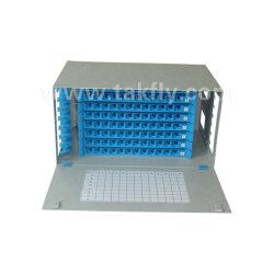 Montage en rack 96 ports fibre optique de boîte de distribution ODF Frame