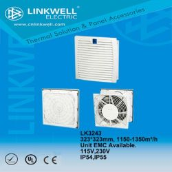 De nieuwe Filter van de Ventilatie van de Reeks met EMC van de Ventilator Motor, Energy-Saving, hoog-Gelijkheid Lk3243
