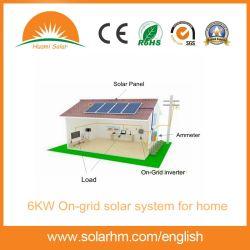 6kw PV van het net Systeem voor Huis met Zonnepanelen