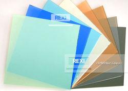 3mm-12mm Gris Gris foncé de Bronze Euro sombre de couleur vert foncé bleu Ford teinté feuille réfléchissante verre solaire de flottement