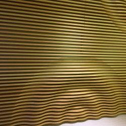 Ferrugento revestimento exterior de lâmina de alumínio do painel de parede de fachada do prédio